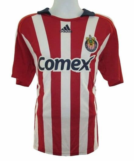 2008 Chivas USA Home Football Shirt, adidas, Soccer Jersey, MLS, L (Excellent)